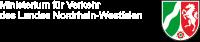 Logo Ministerium f�r Verkehr des Landes Nordrhein-Westfalen